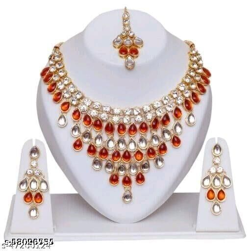 Crystal Fancy Jewellery Set