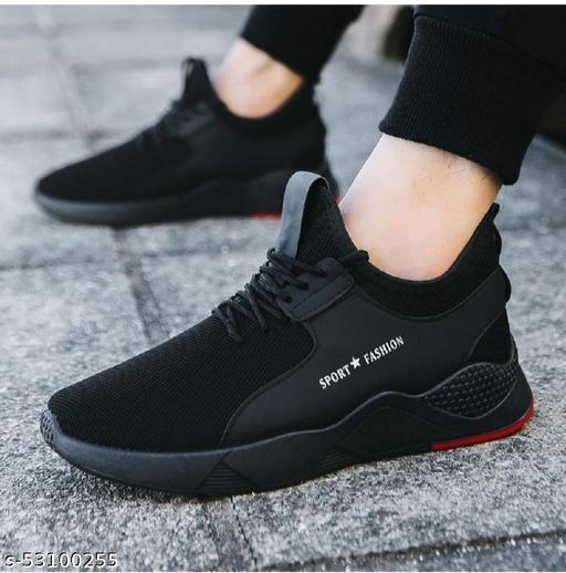Men running sport shoe