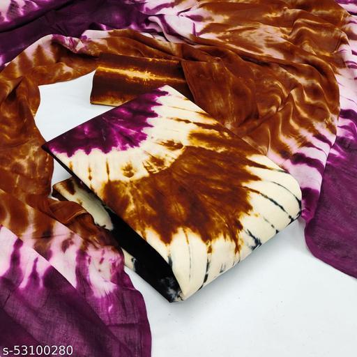 Tie Die Bandhani Cotton Dress material