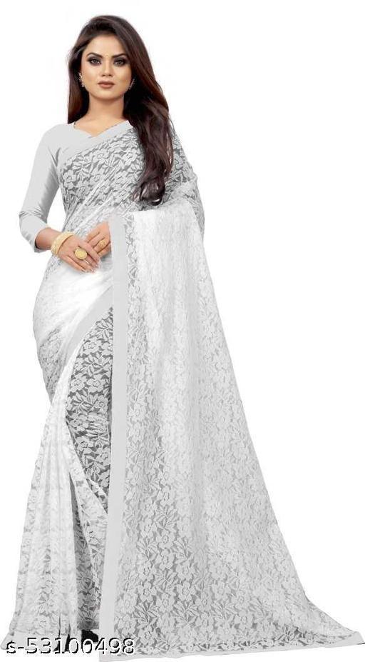 Self Design Bollywood Net, Jacquard Saree