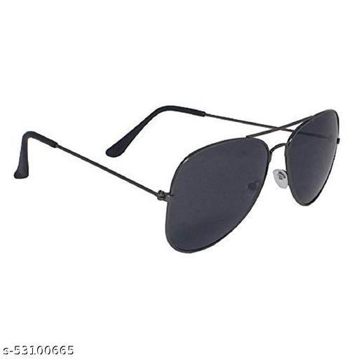 Aviator Full Black Sun glass, Pack of 1