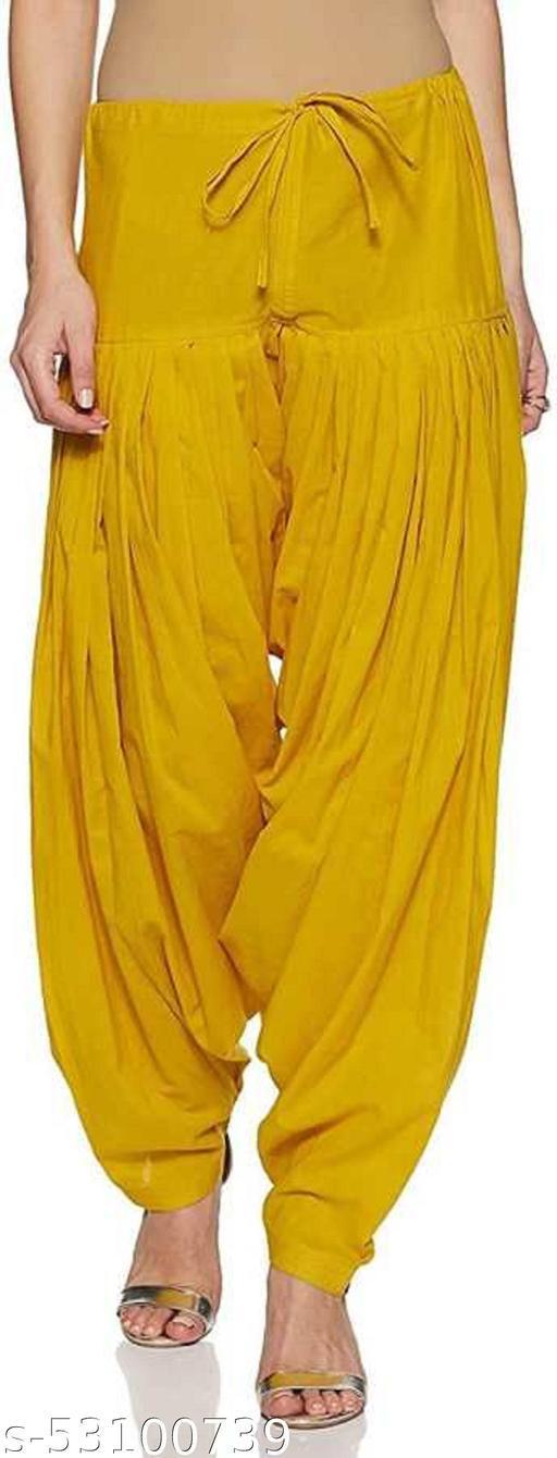 globalstyle Solid Patiala Yellow