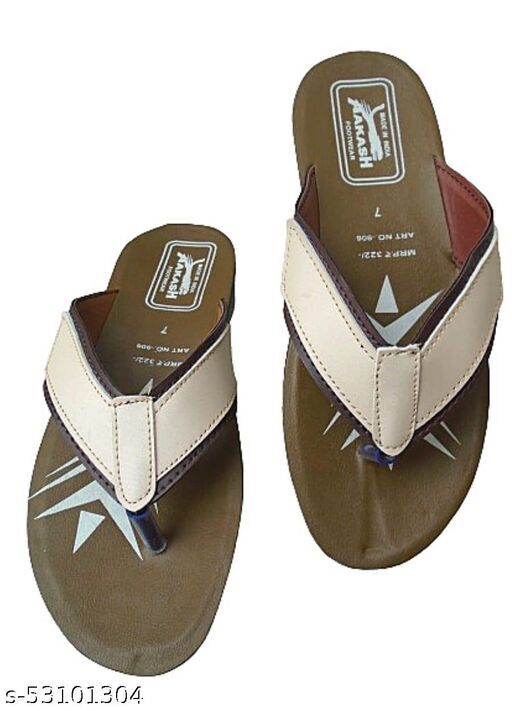 Mens latest slippers with new design