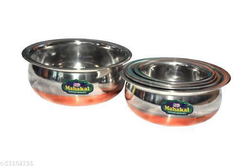 Copper Handi Pots