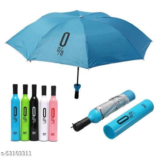 KRISHNA ENTERPRISE Multicolor Umbrella   Bottle Umbrella