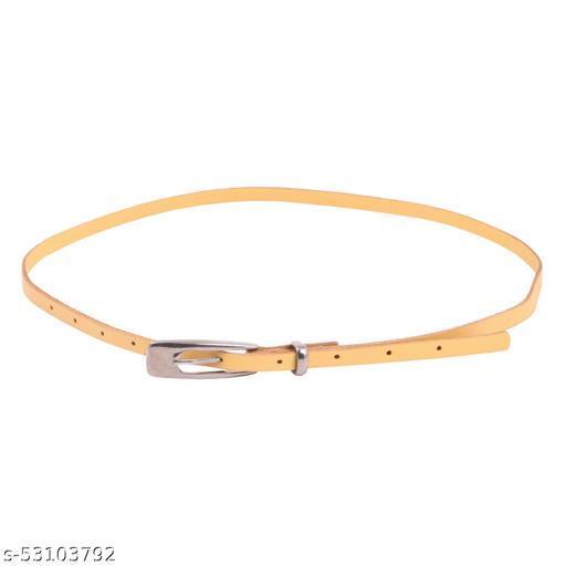 TRYSCO® Designer Stylish Leather Regular Slim Fit Girls Women Belt for Dresses/Jeans/Skirts/Shorts