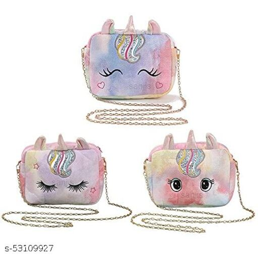 Unicorn style party purse for kids