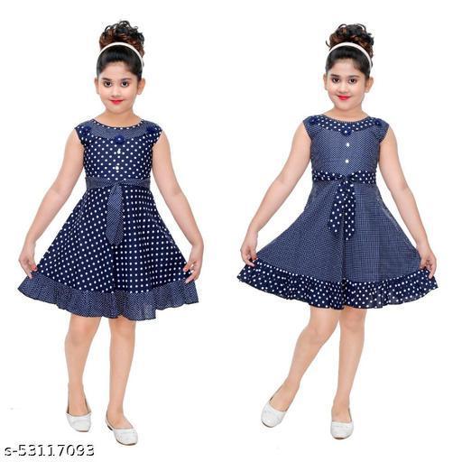 Agile Stylish Girls Frocks & Dresses