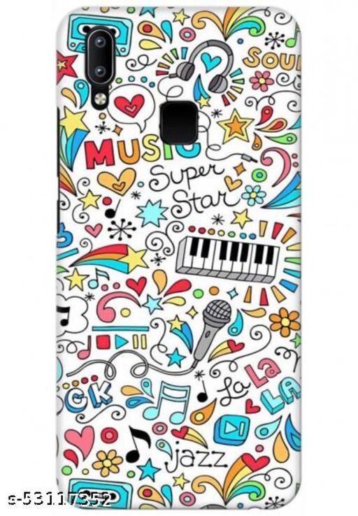 For Vivo Y91 Back Cover Case - Music MP3 Old School