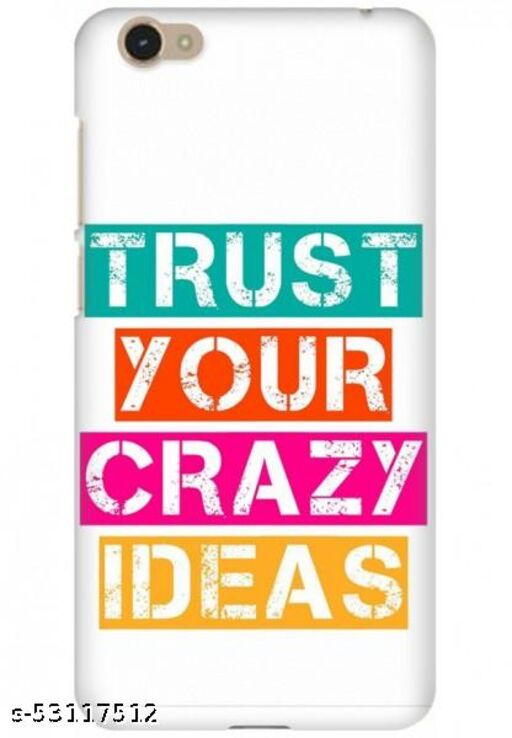 For Vivo Y55S Back Cover Case - Trust Your Crazy Ideas
