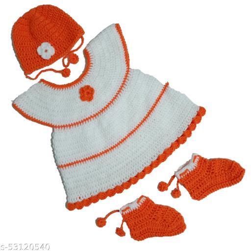 Baby Girl's Handmade Sweater