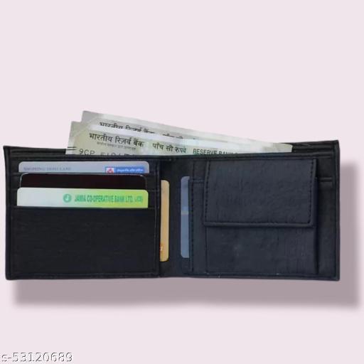 Northzone Black Synthetic Men's Wallet
