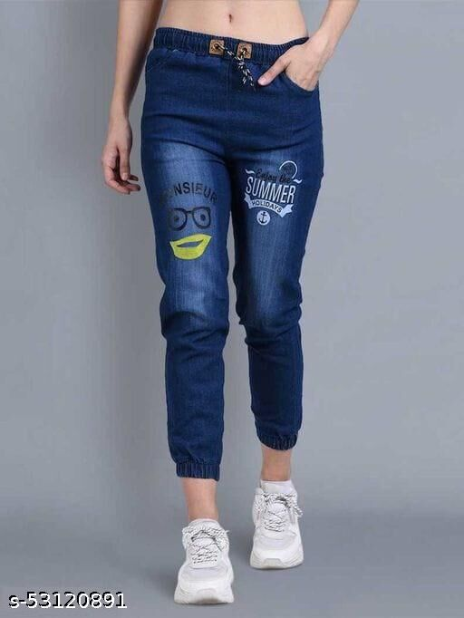 DelQueen Women's Jeans Comfortable and Stretchable