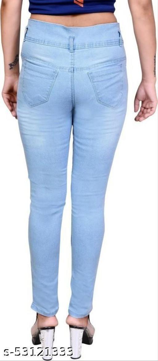 CHEENU GARMENTS Regular Women Light Blue Jeans