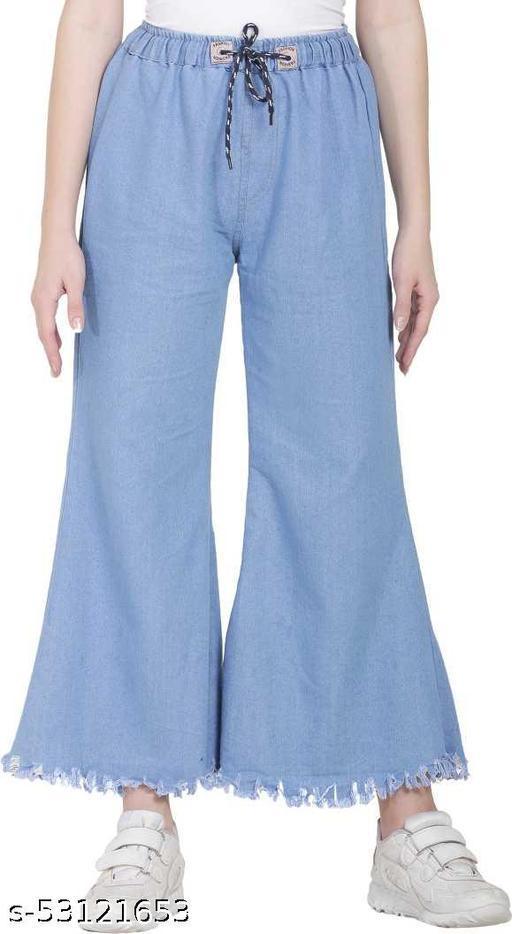 Regular Women Light Blue Jeans