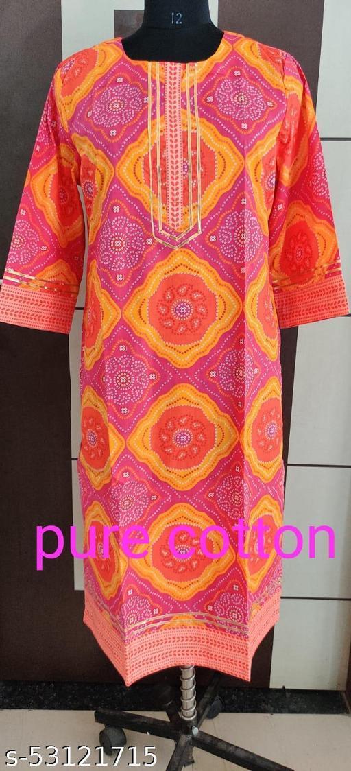 cotton kurtis