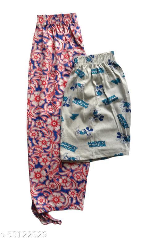Women's Printed Capri Shorts Combo CSCOMBO05