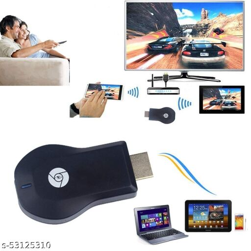 Wi-Fi Wireless Display Dongle | DLNA Airplay Wireless HDMI Screen Mirroring Wi-Fi Adapter, TV/LED/LCD/Projector Receiver Device Easy Sharing Wireless Compatible with iPhone/Android