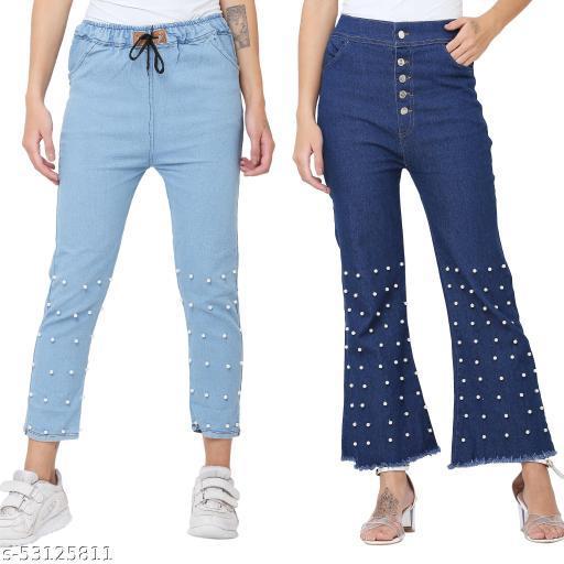 Classic Partywear Women Jeans
