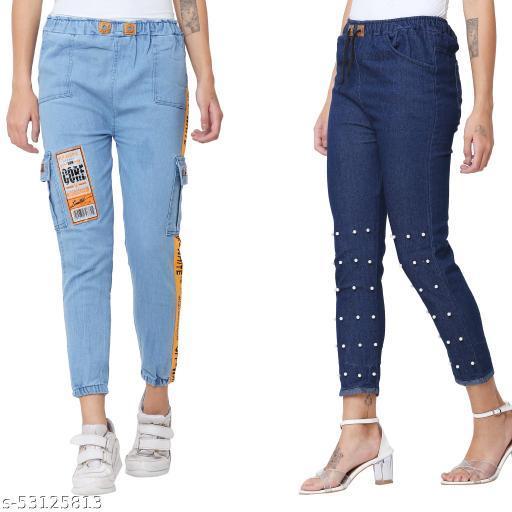 Stylish Partywear Women Jeans