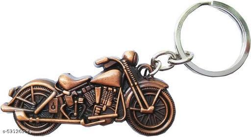 Impex Retail Royal Bullet Bike Keychains Keyrings - Copper