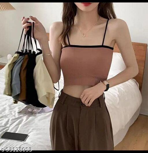 NEW TRENDY THE USE TO FINE STRAPS GRIP TO YOUR BODY MAKES IT EA SY FOR WOMEN TO FIT Bra