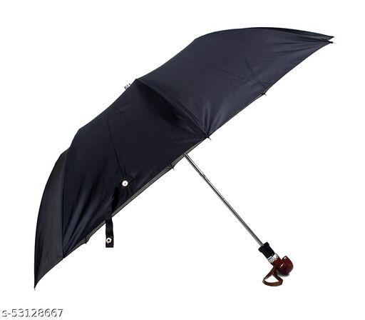 Umbrella 2 Fold Auto Open Waterproof 190T Polyester Double Coat Silver Spray J-Shaped Handle Umbrellas For Men and Women