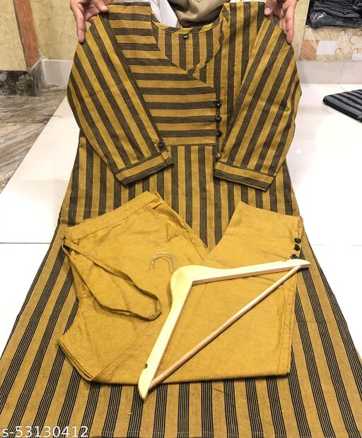 Kurti Trouser Set