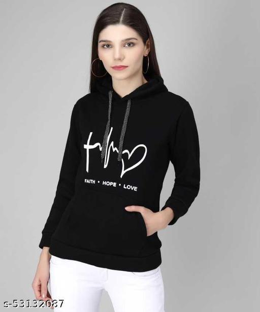 Full Sleeve Printed Women Sweatshirt