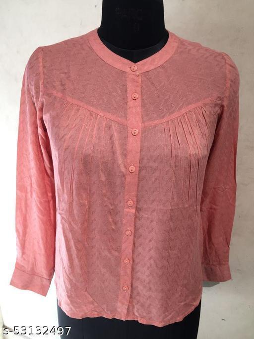 Women Printed Shirt Stylish Casual Daily Wear Shirt Top