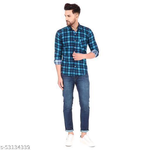 HKV Latest Check Full Sleeve Cotton  shirt