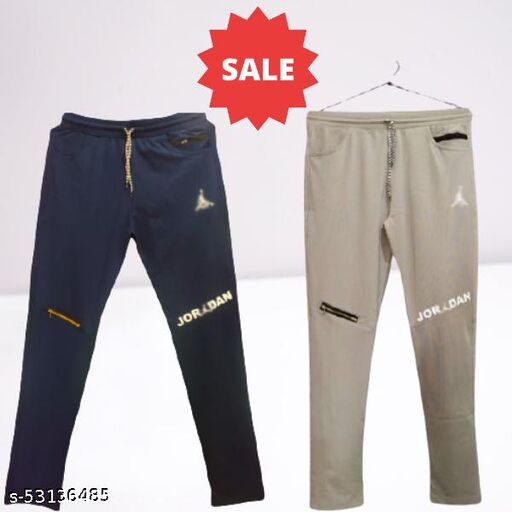 Branded Trackpants Combo with High Quality fabric (Pack of 2)
