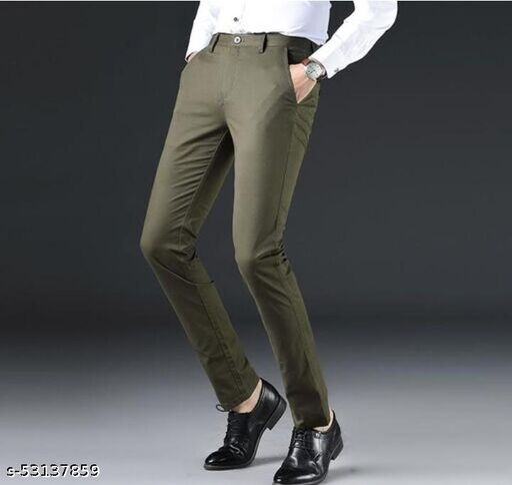 Stylish Modern Men Trousers