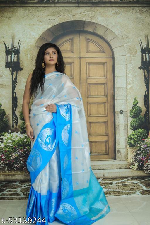 Tissue Silk Banarasi Saree