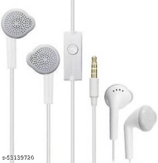 Stylish YS EARPHONE 3.5mm jack Wired Headset  (White, In the Ear)