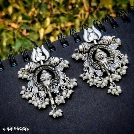 MONKDECOR Ganesh ji (Silver).