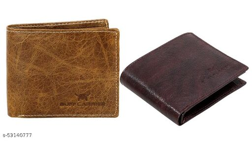 men's Wallet Branded Leather wallets with Box