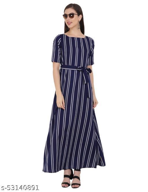 Stripe Boat Gowns