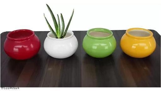 small matki shape pot