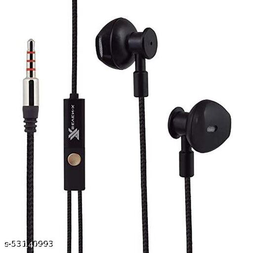 High Bass Earphones Noise Isolating  compatible ALL Oppo Vivo Samsung  Redmi