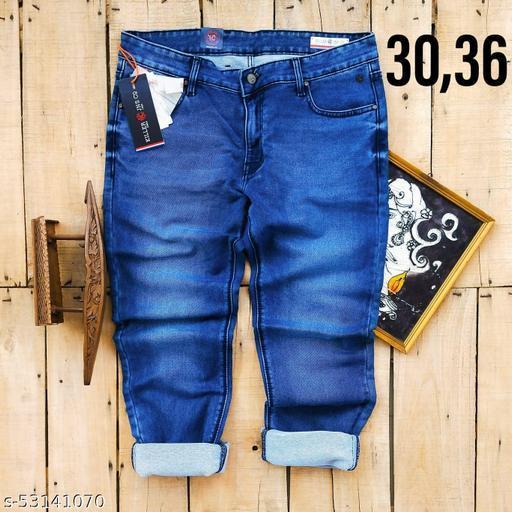 MEN SOLID DENIMS jeans