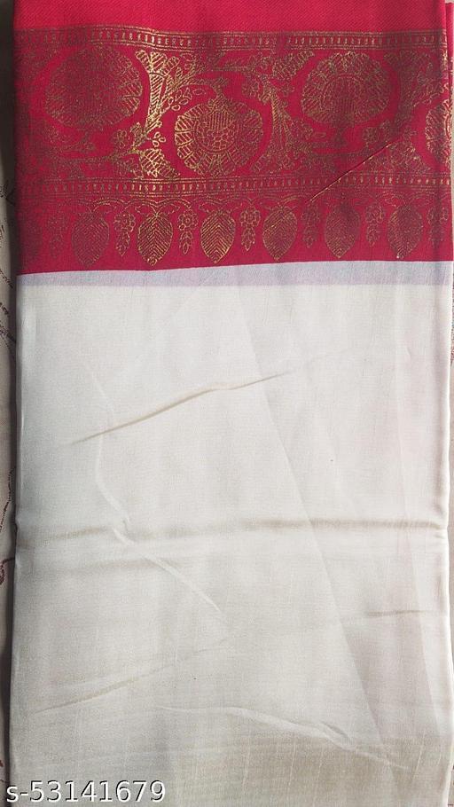 Bengali Saree red and white