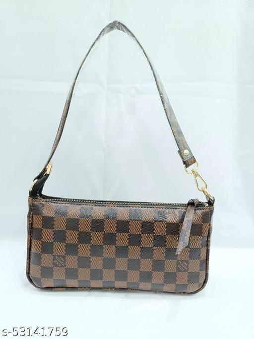 Superk black-brown hand bag for women 09 SB