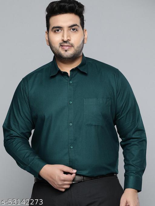 Dennison Men Teal Smart Slim Fit Pure Cotton Solid Formal Shirt