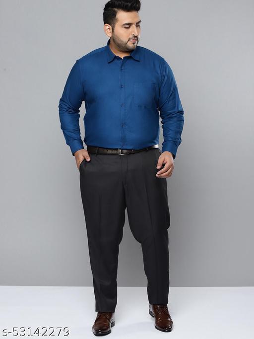 Dennison Men Red Smart Slim Fit Pure Cotton Solid Formal Shirt