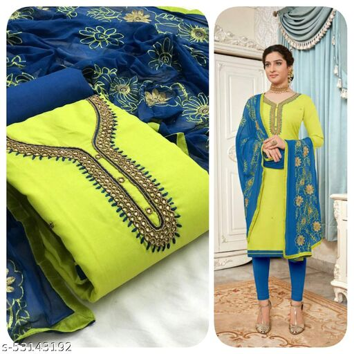 Banita Alluring Semi-Stitched Suits