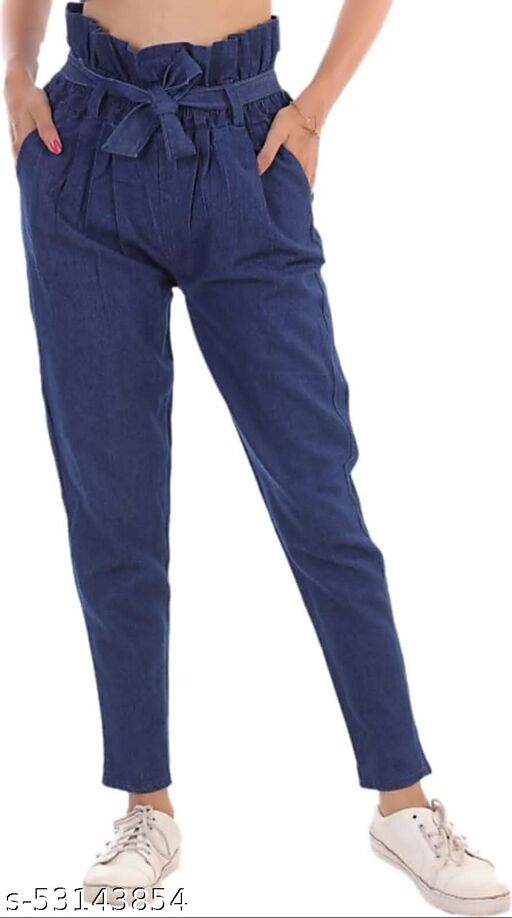 Trendy Retro Women Jeans