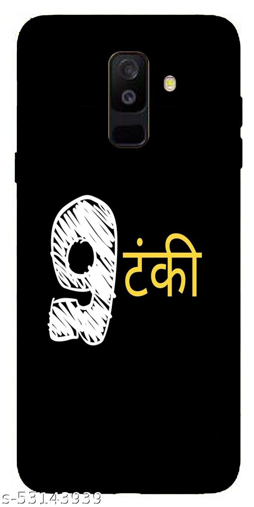 SAIRA Collection Back Cover For Samsung Galaxy A6 Plus