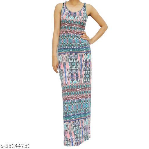 SICHAYA Printed Lycra Blend Bodycon Dress