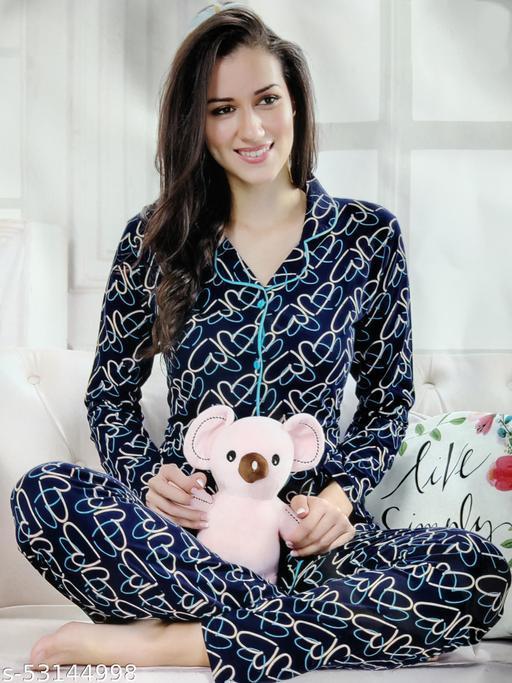 Just Colorme Hosiery Premium Night Suit